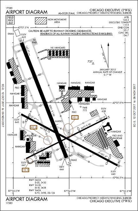 2017 FAA Airport Diagram