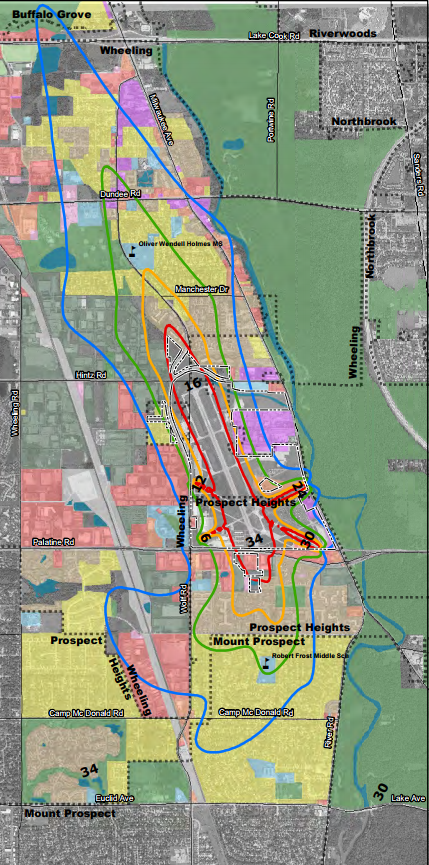 Noise Exposure Map Update Public Hearing 1128 Chicago Executive